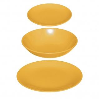 Geschirr-Set für 6 Personen COLORAMA, Porzellan
