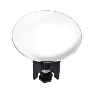 WENKO, Waschbeckenstöpsel Pluggy XL White, Kunststoff, 6.2 x 6.6 x 6.2 cm