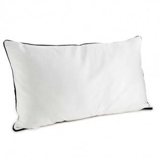 Deko-Kissen EVASION, Baumwolle, 75 x 45 cm, weiß