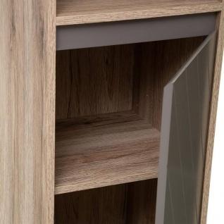 Unterschrank für Badezimmer, 3 Einlegeböden und 1 Tür, Höhe 88 cm, Modell Elda - 5five Simple Smart - Vorschau 2