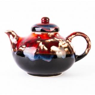 Teekanne, handgemacht, CRUSTA, 1, 3 l - einzigartiges Muster