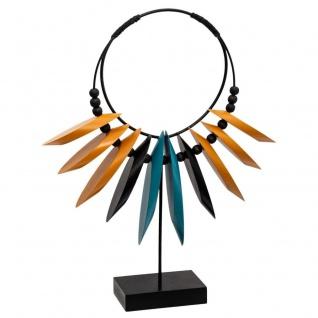 Jungle Ethnische Halskette, Tischdeko, 35 cm - Atmosphera