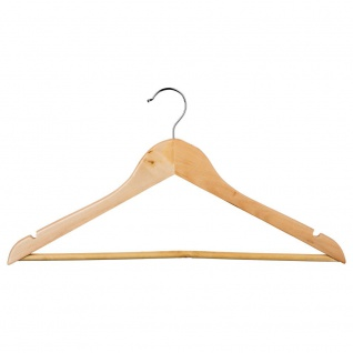Kleiderbügel, Satz von 8 Holz Kleiderbügel 5five Einfache Smart