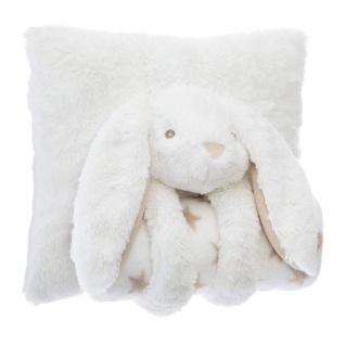 Set Kissen und Decke Einhorn, Elfenbein - Atmosphera for kids