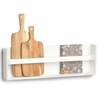Küchenregal zum Aufhängen, 80 x 10 x 25, 5 cm, ZELLER - ZELLER
