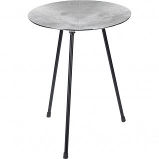 Dreibein-Tisch, Kaffeetisch, silbern - Home Styling Collection