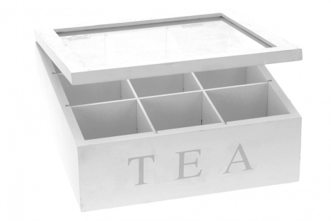 Holz Teebox TEA, 9 Fächer - Vorschau 4
