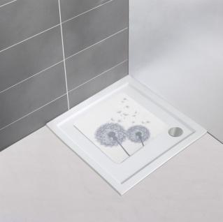 ASTERA Duschmatte aus Kunststoff für Badezimmer, 54 x 54 cm, WENKO - Vorschau 3