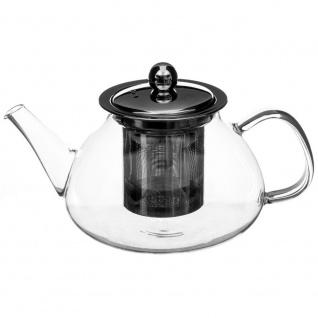 Secret de Gourmet, Glaskrug, Glaskanne, Teekanne - 850 ml