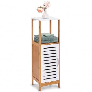 Badezimmerschrank mit Ablage, Badregal, Möbelstück aus Bambus-Kollektion, Zeller - Vorschau 2