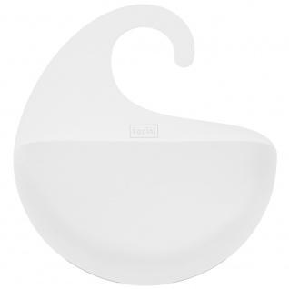 Badezimmer-Organizer SURF M - Farbe Bio grau, KOZIOL