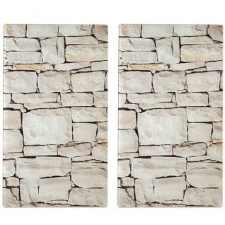 Zeller Herdabdeck-/Schneideplatten Stone, 2-er Set - Vorschau 1
