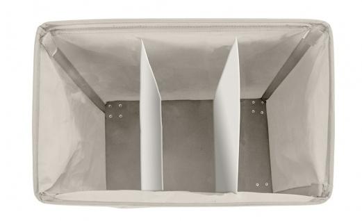 Wäschesammler Waschbehälter TRIVO BEIGE - bis 116 Liter, WENKO - Vorschau 2