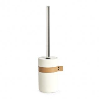 WC-Bürstenhalter + WC-Bürste, weiß, ZELLER - ZELLER