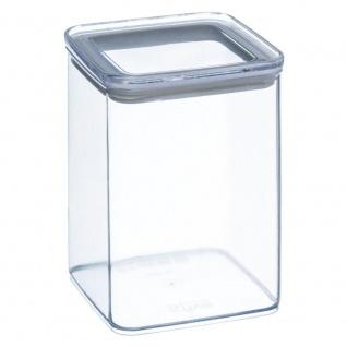 Lebensmittelbehälter, Transparent Square, mit versiegeltem Deckel, 1 Liter Fassungsvermögen
