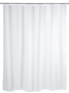 WENKO 19103100 Duschvorhang Uni - wasserdicht, pflegeleicht, Kunststoff - PEVA