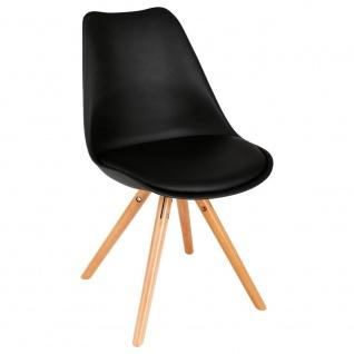 Stuhl für das Büro, Wohnzimmer, bequemer Sitz, 54 x 48 x 81 cm
