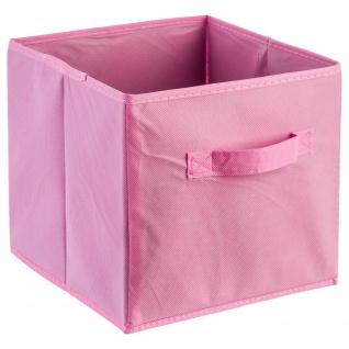 Korb für die Aufbewahrung von kleinen Gegenständen faltbar universal für Schlafzimmer Wohnzimmer Kinderzimmer