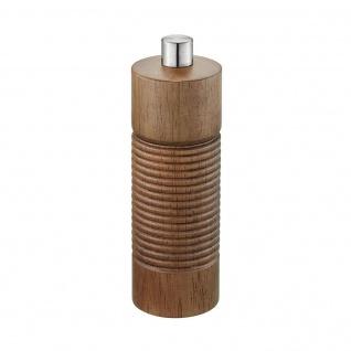 Pfeffer- und Salzmühle TEDORO, 14 cm, braun