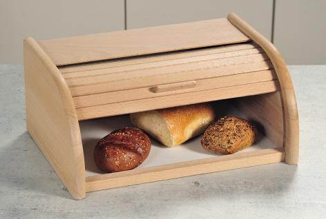 Bkasten, Buchenholz, Bbehälter, Holzbehälter für B, Maße:39 x 18 x 25cm