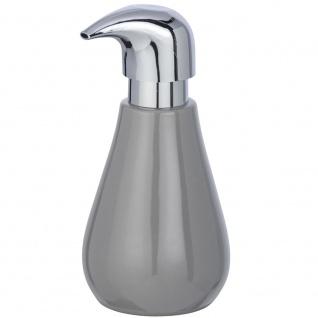 Keramikspender für Flüssigseife, Behälter mit Tropfenpumpe SYDNEY - 320 ml, WENKO