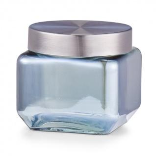 ZELLER Küchenbehälter für die Aufbewahrung von Lebensmitteln, dekoratives Glas, 800 ml