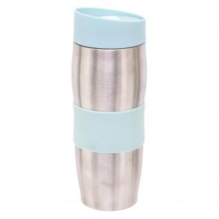 HESTIA Edelstahl-Thermobecher, 360 ml, Farbe blau - Secret de Gourmet