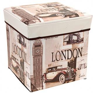 Aufbewahrungsbox, Behälter mit Deckel - 2 in 1, Paris - Vorschau 2
