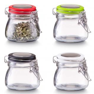 Gewürzbehälter, Glas mit Deckel, 125 ml, ZELLER - Vorschau 2