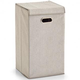 Schmutziger Wäschekorb, faltbarer Wäschekorb, 60 l, 57 x 32 x 32 cm, ZELLER