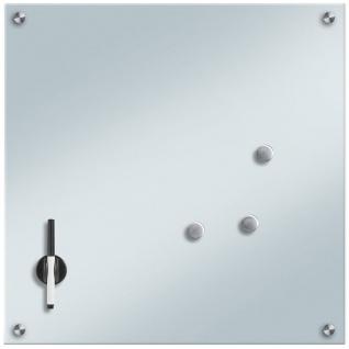 Memoboard aus Glas, ZELLER, 55 x 55 cm
