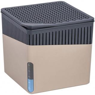 Feuchtigkeitsabsorbierendes Gerät, praktisches Trockenmittel-Gadget - unterstützt bis zu 80 m3 Luft, 16, 5 x 16, 5 x 15, 7 cm, WENKO