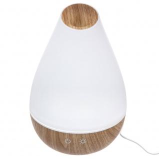 Luftdiffusor mit Kabel angetrieben, Farbwechsel LED-Licht, 2in1