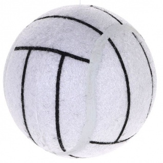 Hundeball TENNIS BALL, Ø 7, 5 cm, schwarz