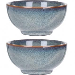 Suppenteller, 2 Stück, 320 ml, blau