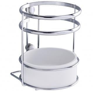 Wenko Utensilienhalter Style-Aufbewahrungskorb für die Küche, verchromtes MetalLiter 13 x 15 x 13 cm, silber glänzend