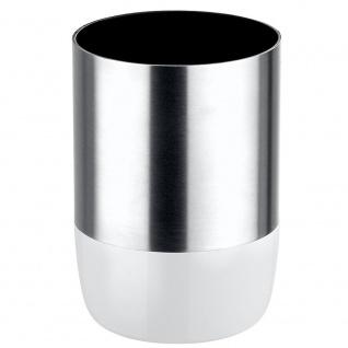 Wenko, Zahnputzbecher Loft - Edelstahl rostfrei, Kunststoff