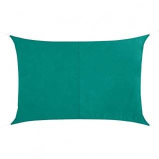 Sonnensegel, rechteckig, 4 x 3 m, dunkelgrün - Hesperide