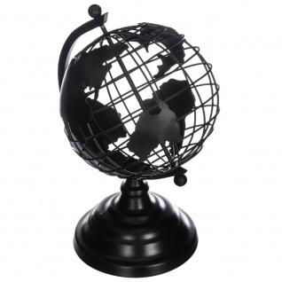 Globus Metall, Metalldekorationen, Raumdekorationen 25 cm