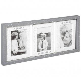 Bilderrahmen für 3 Fotos SWING, 45 x 21 cm