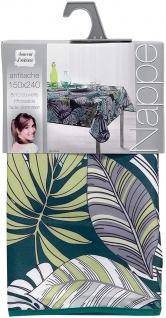 Tischdecke, rechteckig, CAP NATURE, 150 x 240 cm, dunkelblau, Blätter-Motiv - Vorschau 2