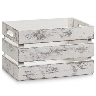VINTAGE Aufbewahrungskoffer, Holz, 31x21x19 cm, ZELLER