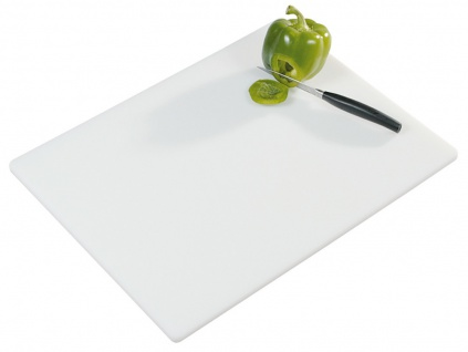 Profi-Tranchierbrett, Küchenbrett, Servierbrett, Schneidebrett, 49 x 30 x 1, 5 cm