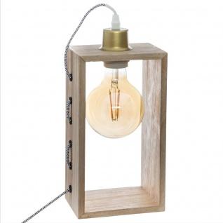 Dekorative Lampe mit IWATA Leuchtmittel, 28 cm, bernsteinfarben - Atmosphera