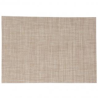 Tischmatte 50 x 35 cm, 1 Stück, beige