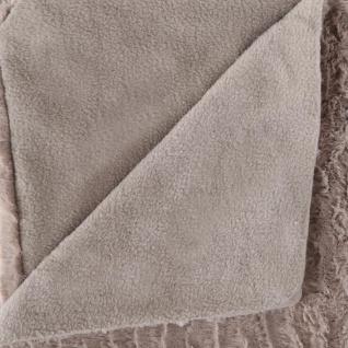 Atmosphera Créateur d'intérieur, Warme Pelzdecke, Polyester 160x120 cm - grau - Vorschau 2