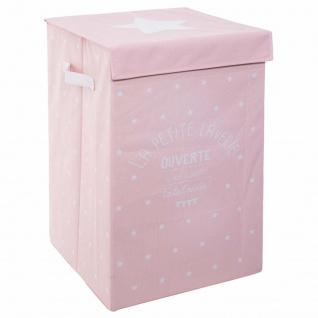 Wäschekorb Wäschekorb Leinen Faltbare Aufbewahrungsbox Grau Aufbewahrungsbox 60L