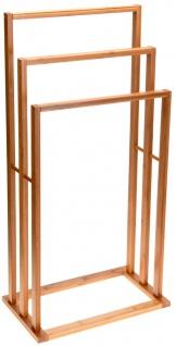 Handtuch-Ständer aus Bambus