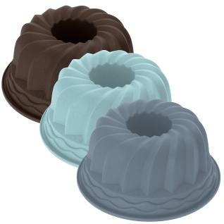 Runde Form zum Backen von Kuchen - Silikon, 24 cm