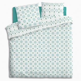 Bettwäsche Baumwolle Bettdecke und Kissen in einem geometrischen Muster ist ein Set, das Ihnen einen angenehmen Schlaf bieten wird